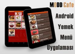 Modd Cafe Android Restaurant Menü Uygulaması